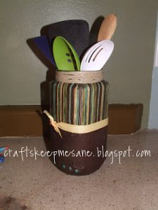 Tutorial Tuesday: Utensil Holder