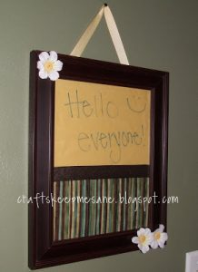 Tutorial Tuesday: A Free Dry Erase Board