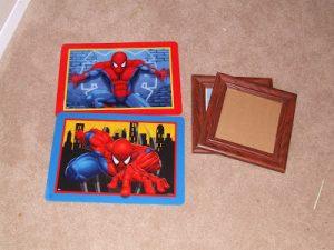 Whatever Wednesday: Spiderman Frames