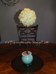 Tutorial Tuesday: Flower Topiary