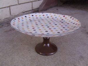 Tutorial Tuesday: Fabric cake stand