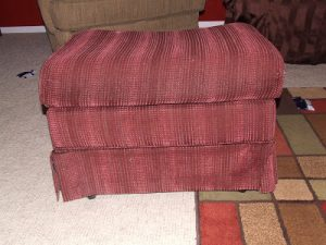 Whatever Wednesday: Ottoman Makeover