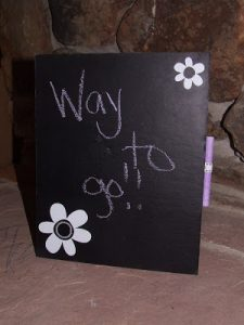 Tutorial Tuesday: Standing Chalkboard
