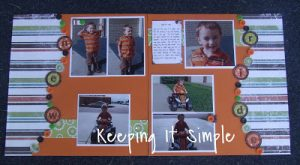 Scrapbooking Week: Using Buttons