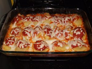 Tasty Thursday: Manicotti