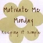 Motivate Me Monday #50