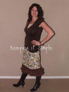 Tutorial Tuesday: Ruffle Skirt