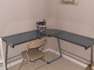 Etched Desk