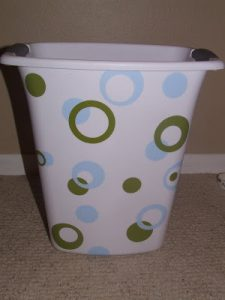 Whatever Wednesday: Vinyl Garbage Cans