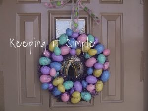 Tutorial Tuesday: Easter Wreath