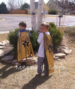 Silhouette Saturday: Super Hero Capes