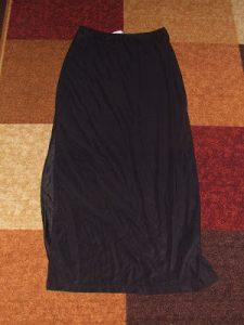 Whatever Wednesday: Long Black Skirt Refashion