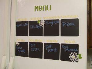 Whatever Wednesday: Chalkboard Menu
