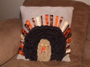 Tutorial Tuesday: Ruffle Turkey Pillow