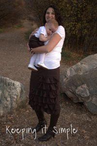 Tutorial Tuesday: Matching Ruffled Skirts