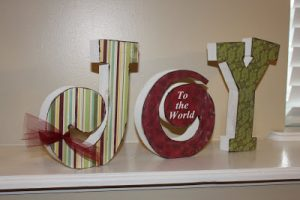 Crafty Wood Cutouts: JOY