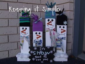 Easy Christmas Decoration – Christmas 2×4's with cut file
