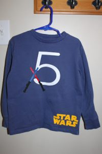 Star Wars Birthday Shirt