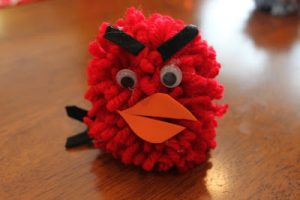 Tot Thursday: Angry Birds Pom Pom