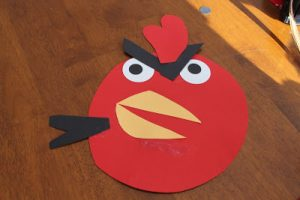Tot Thursday: Paper Angry Bird