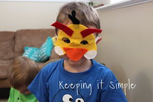 Whatever Wednesday: Angry Birds Masks
