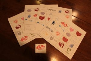 Tot Thursday: Valentine's BINGO