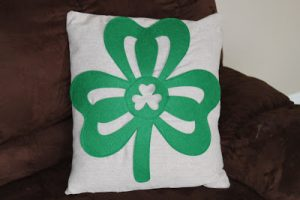 Whatever Wednesday: St. Patrick's Day Pillow