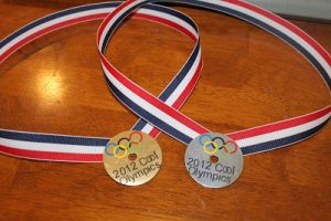 Olympics Party Idea: DIY Olympic Medals
