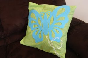 Tutorial Tuesday: Butterfly pillows