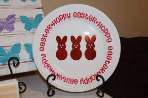 Whatever Wednesday: Easter Plate