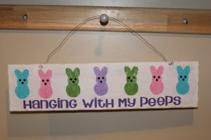 Tutorial Tuesday: Peeps sign