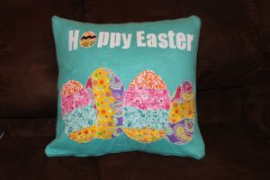 Whatever Wednesday: Easter Pillow