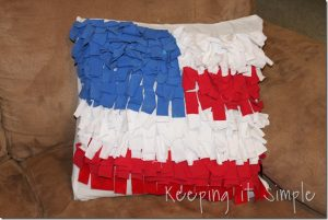 T-shirt Flag Pillow