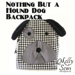Hound Dog Backpack [Melly Sews]