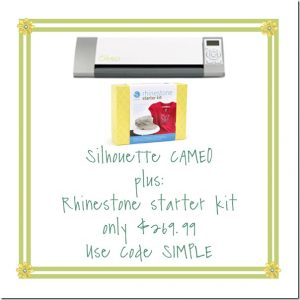 Last Day for the Silhouette Promotion!!