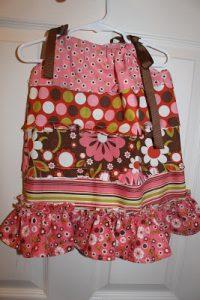 Rag pillow case dress