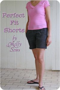 Perfect Fit Shorts [Melly Sews]
