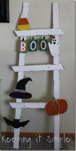 Halloween Ladder