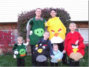 Family Costume Ideas- Round Up of Our Family Costumes