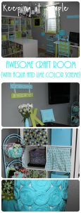My Craft Room REVEAL!
