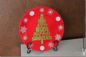 Christmas Plate
