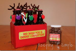 Root Beer Reindeer Neighbor Gift