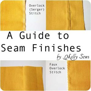 Seam Finishes {Melly Sews}