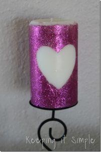 Glitter Candle