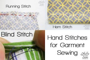 Hand Stitches {Melly Sews}