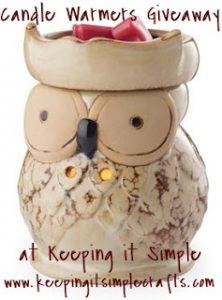 Candle Warmers GIVEAWAY
