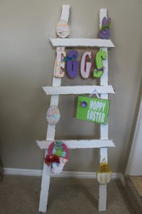 Easter Decor Ladder