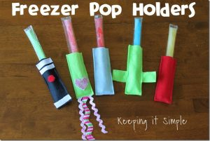 Freezer Pop Holders