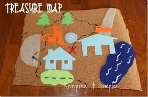 Treasure Map {Summer Activity}