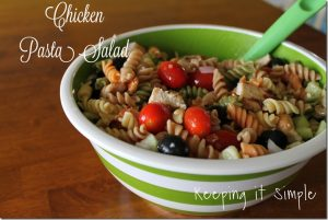 Fresh and Easy Chicken Pasta Salad